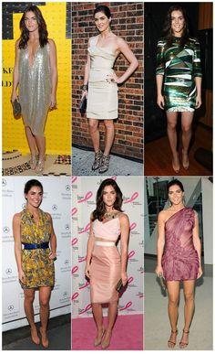 Vejo produções de várias modelos famosas por aí e não são muitas as que eu realmente gosto. Acho que a modelo Hilary Rhoda se destaca em seu meio.Além de ser linda, ela tem jeito de saudável (não é esquelética, é uma magra bonita) e ainda se veste muito bem!!!
