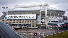 Amsterdam Arena is nu Johan Cruyff stadion Afc Ajax, Netherlands, Amsterdam, Sports, Cathedrals, Amazing Things, Legends, Barcelona, Father