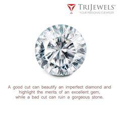 Its all depend upon diamond cut.