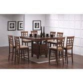Found it at Wayfair - Hartsel 9 Piece Counter Height Dining Set