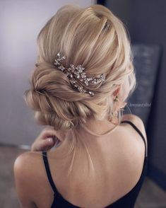 The Best and fabulous Hairstyles for Every Wedding Dress Neckline. Whether you're a summer ,winter bride or a destination bride, so make sure your hairstyle shows the pretty garment off as much as possible.