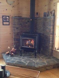 Wood Stove Corner Hearth Ideas Wood Stove Redo In 2018
