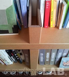 estanteria de carton cartonlab