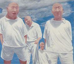 Fang Lijun (方力钧; b1963, Handan, Hebei Province, China)