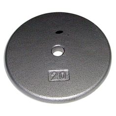 Apollo 1 in. Regular Weight Plate - GR- 1.25