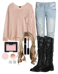 "Malia Tate 4x06 ""Orphaned"" Outfit by lili-c on Polyvore featuring H&M, NARS Cosmetics, Sisley Paris and Korres"