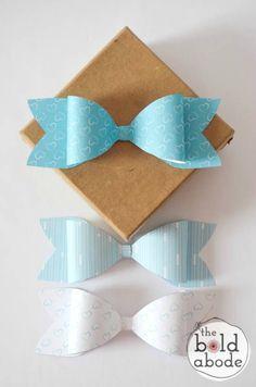 DIY Paper Bows (+ Free Printables)