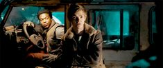 Thomas Brodie-Sangster in the 'Maze Runner: The Death Cure' trailer.