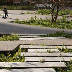 Agatha O l Chausson's Garden, Gennevilliers, France « Landscape Architecture Works | Landezine