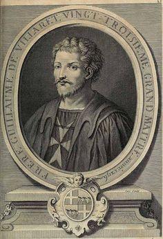 Guillaume de Villaret, Mare Maestru al ordinului Sfântului Ioan al Ierusalimului - Istorie și civilizații