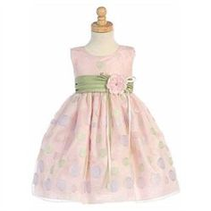 #Lito                     #ApparelDresses           #Lito #Pink #Sage #Sleeveless #Easter #Dress #Toddler #Girl                   Lito Pink Sage Dot Sleeveless Easter Dress Toddler Girl 2T                                              http://www.seapai.com/product.aspx?PID=7124714
