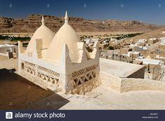 Grave Site Of The Prophet Hud, Pilgrimage Site Of Gabr Hud, Qabr Hud Stock Photo, Royalty Free Image: 10005350 - Alamy