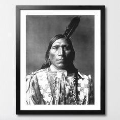 ORLE PIÓRO MIXGALLERY portrait,face,indian,wallart,canvas,canvas print,home decor, wall,framed prints,framed canvas,artwork,art