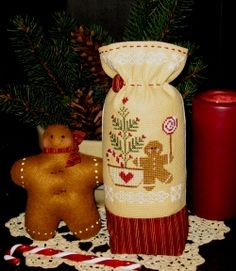 Gingerbread Junction - Plum Pudding NeedleArt