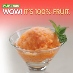 Citrus Sorbet: simple, refreshing, & ready in an instant with Yonanas!