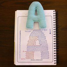 . . القليل من الطّموح يكفي، لضرورة المكابدة. ✨ . #letters_crochet