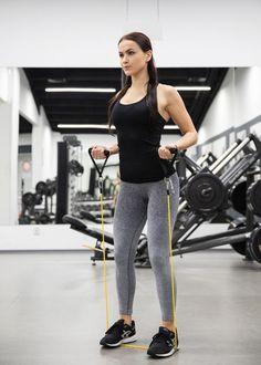 Expander Power Tube 5 resistance lvls BodyNetics Set CrossFit, Gym, Physio