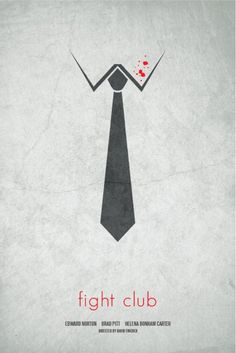 This movie poster is a good example of the use of constrained visual language. The poster use 2D black and white image of a shirt and a tie with some red dot on the shirt as the blood cleanly send the message of fighting to the viewer through the easy and constrained image. // Introducing moirestudiosjkt a thriving website and graphic design studio. Feel Free to Follow us @moirestudiosjkt to see more #remarkable pins like this. #poster #advertisingDesign #graphicDesign