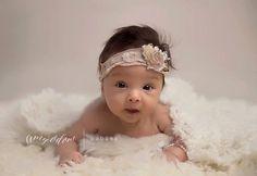 Fluffy Newborn Blanket Texture Baby Photo by CricketsCreations, $38.00 #cream #photography