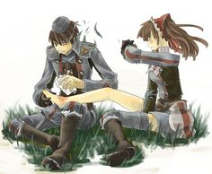 valkyria chronicles alicia and welkin - Google Search