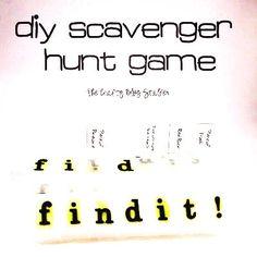 #DIY Find It Scavenger Hunt #Game for #Kids