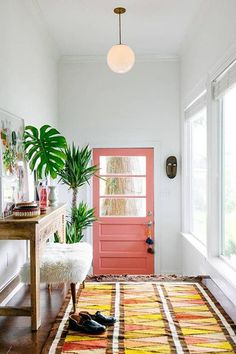 Pretty In Pink - Painting Your Door Will Definitely Brighten Your Day - Photos