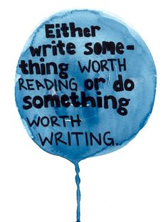 """""""Either write something worth reading or do something worth writing.""""  Love this quote by Benjamin Franklin!"""