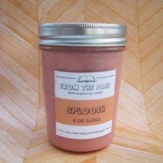 I neeeeed this. Sploosh Soy Candle Inspired by Holes  8 oz by FromthePage on Etsy, $10.00