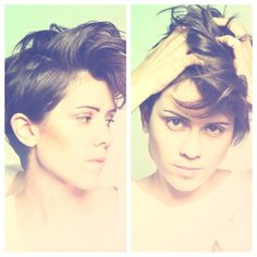Really liking the short hair styles