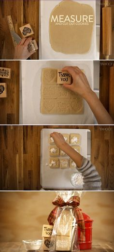 Looking for an easy new way to put your own stamp on cookie baking? Why not do exactly that! Here's how you can use your rubber stamps to decorate your cookies.