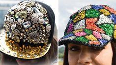gorras para niñas decoradas - Buscar con Google Refashion, Captain Hat, Baseball Caps, Bling Bling, Womens Fashion, Google, Yarns, Fashion Hats, Head Bands