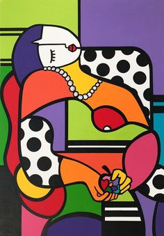 Virginia Benedicto – Le Rêve (Hommage an Pablo Picasso) - Malerei Kunst Pablo Picasso, Picasso Art, Picasso Paintings, Picasso Drawing, Abstract Face Art, Abstract Oil, Abstract Paintings, Oil Paintings, Cubist Art