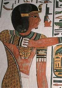 Dioses y divinidades representados en la tumba de Nefertari (II) - Valle de las Reinas -