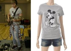 "Ji Hyun-Woo in ""Trot Lovers"" Episode 3.  Whole Hauss Mickey T-Shirt #Kdrama #TrotLovers #트로트의연인 #JiHyunWoo #지현우"