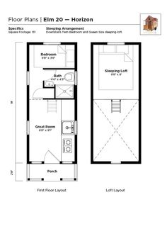 Elm 20 Horizon: one of the new Tumbleweeds with ground-floor bedrooms
