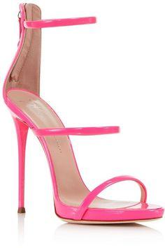 Giuseppe Zanotti Women's Vernice Patent Leather Ankle Strap High Heel Sandals
