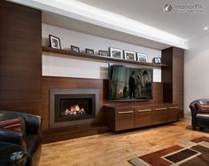 living room furniture arrangement with fireplace and tv - Google Search
