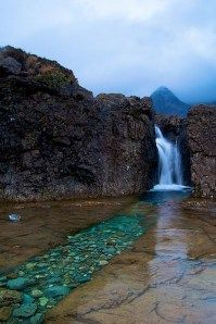 Fairy pools in Ireland