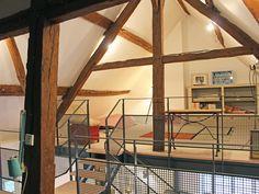 Décoration d'une maison à la campagne en Normandie - Création d'un escalier et d'une mezzanine- Juliette Cheneau ID