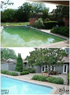Hunt Host Home Tour Swimming Pool House Back Yard