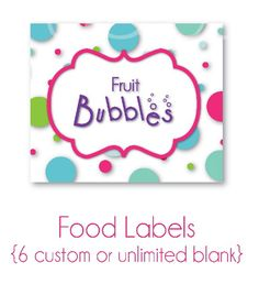 Beth Kruse Custom Creations: bubble guppies
