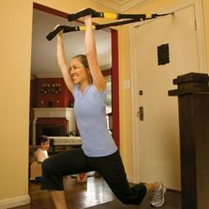 8 Amazing Exercises for the TRX - I love TRX and now I can do it from home! Perfect.