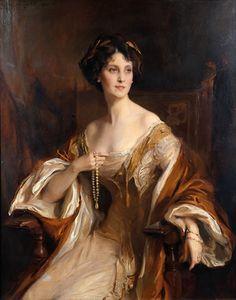 """WINIFRED DUCHESS OF PORTLAND"" (1912) Artist: Philip de Laszlo"