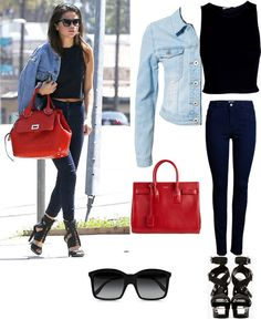 """Selena gomez style steal"" by marramm on Polyvore"