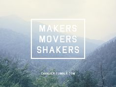 """Clean incorporation of text and image. """"Markers, Movers, Shakers"""" by Taylor Pemberton"""