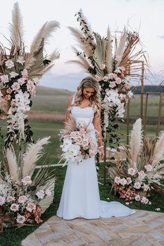 Seacliff House Gerringong Wedding - Gemaya + Tim - The Evoke Company Floral Wedding, Wedding Bouquets, Rustic Wedding, Wedding Dresses, Boho Wedding Flowers, Wedding Ceremony Decorations, Wedding Venues, Perfect Wedding, Dream Wedding