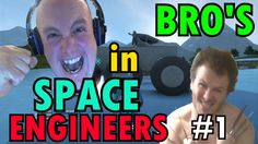 Brothers in Space Engineers │SURVIVAL MULTIPLAYER BASE #1