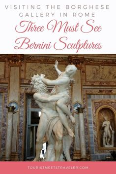 Visiting The Borghese Gallery In Rome: Three Must See Bernini Sculptures - Tourist Meets Traveler Sculpture Du Bernin, Bernini Sculpture, Sculptures, Travel With Kids, Family Travel, Family Vacations, Statues, Gian Lorenzo Bernini, Italia