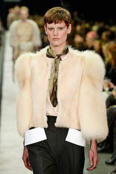 F/W 2014.15 Accessory trend: Skinny Scarves Givenchy