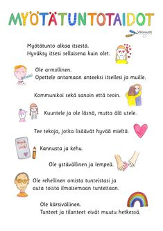 Finnish Language, 3 In One, Little Ones, Classroom, Teaching, School, Poster, Amelie, Class Room